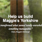 Grant made to Maggie's Yorkshire.